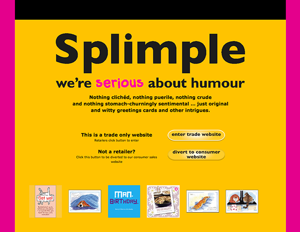Splimple website - please click to see full site